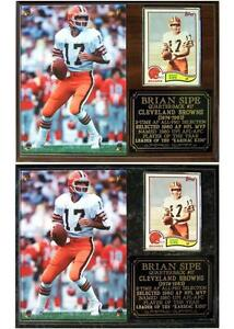 bf214c08 Brian Sipe #17 Kardiac Kids 1980 Cleveland Browns Photo Card Plaque ...