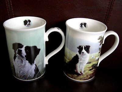 *Danbury Mint PAIR of Mugs RARE OUT OF PRODUCTION WESTIES NEW /& UNUSED*