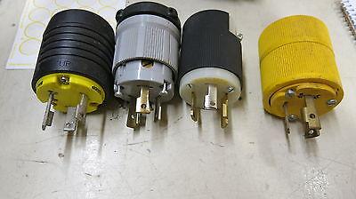 L5-30P 125 Volt 30 Amp 3 Wire Twistlock Plug