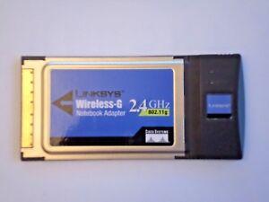 LINKSYS WIRELESS-G 2.4 GHZ NOTEBOOK ADAPTER TELECHARGER PILOTE
