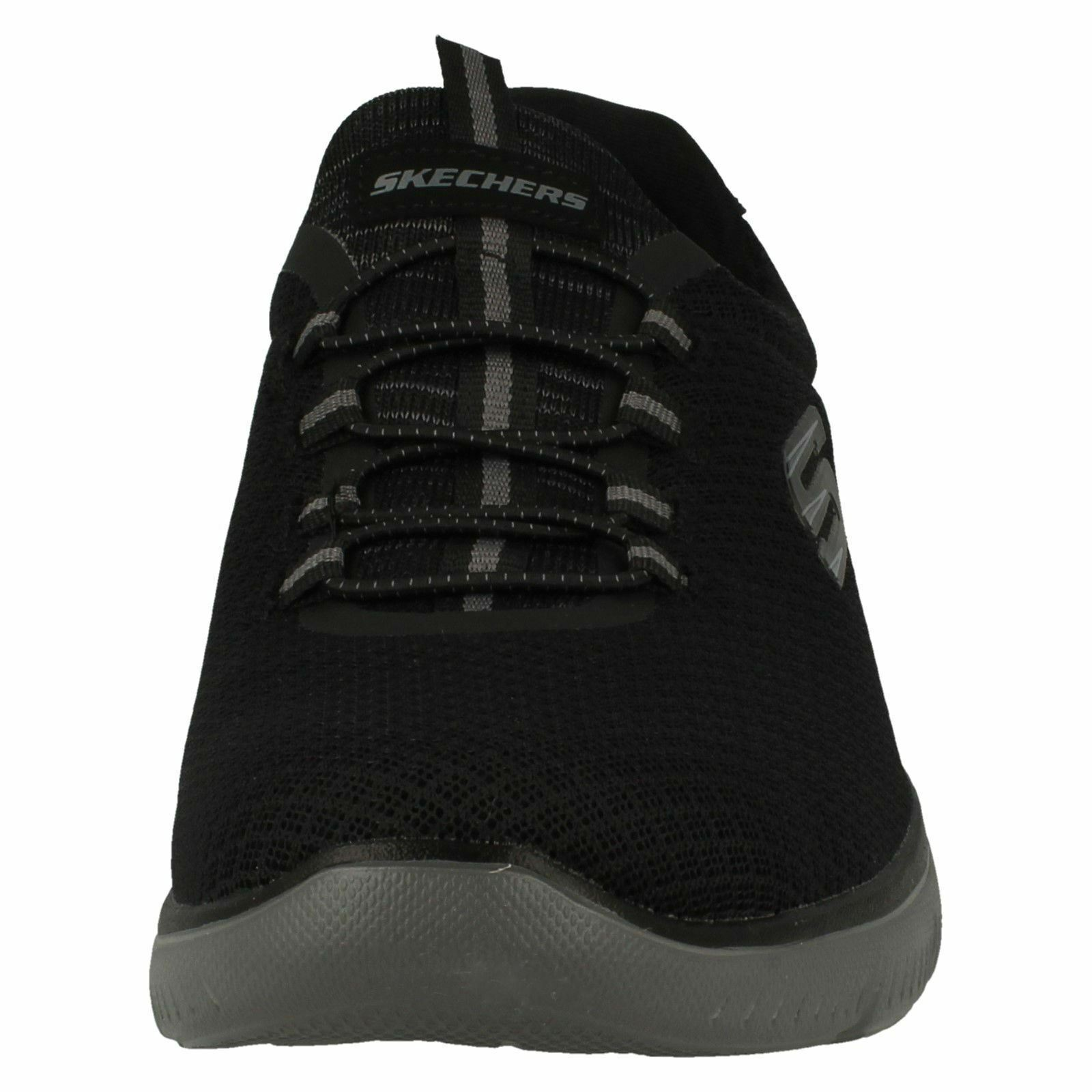 Herren Skechers Memory Foam Casual Slip On 52811 Trainers Elastic Lace Summits 52811 On ef36d9