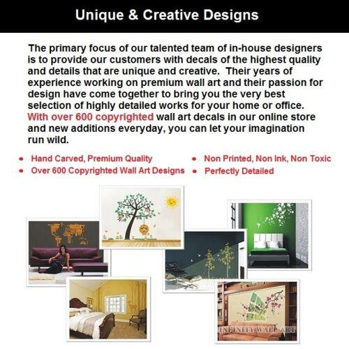 Design de luxe Arbre et Oiseaux Mur Autocollant Art wall stickers stickers muraux // PD156