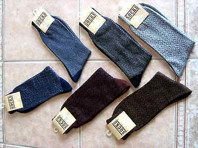 Mens Dress Socks New in Bag with Tags 10-13 asorted patterns