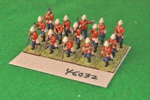 28mm 19th SECOLO/britannici-Fanteria 15 Figure (Plastica) - (46032)