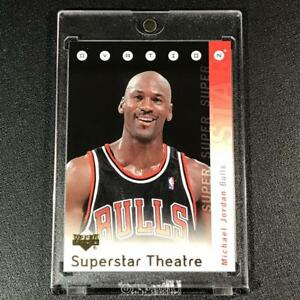 MICHAEL-JORDAN-2006-UPPER-DECK-OVATION-ST-MJ-SUPERSTAR-THEATRE-INSERT-BULLS-MJ