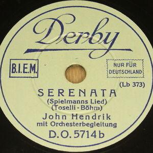JOHN-HENDRIK-034-Serenata-034-Derby-78rpm-20cm