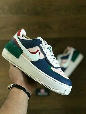 Nike Air Force 1 Shadow Mystic Navy Ci0919 400 Women S Size 11 5