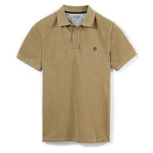 lamentar mago Ciencias Sociales  Timberland Khaki Millers River Slim Polo Shirt- TB0A1LIL RRP £50   eBay