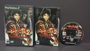 Onimusha 2 Destiny -  PS2 Playstation 2 Game 1 Owner COMPLETE Near Mint Disc