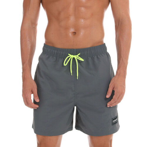 Men Beach Board Swimwear Swim Trunks Surf Quick Dry Stretch Shorts Surf Pants
