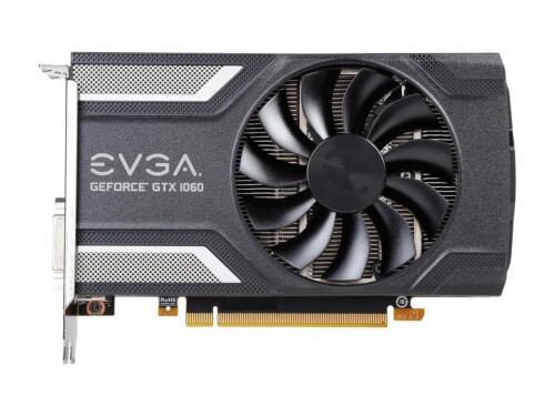 ACX 2.0 06G-P4-6163-KR 6GB GDDR5 EVGA GeForce GTX 1060 SC GAMING Single Fan