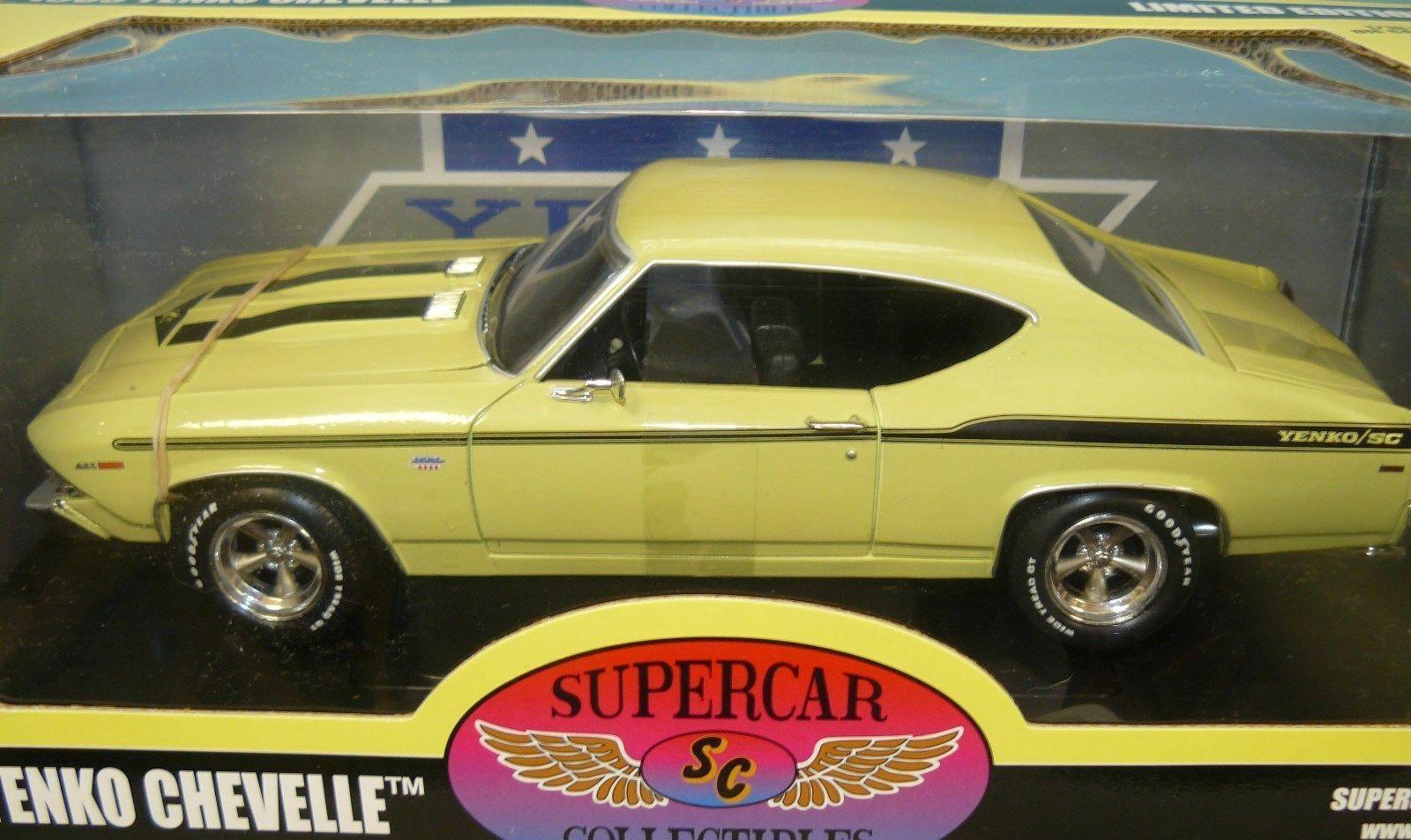 1  18 1969 Chevelle Yenco, ny i lådan, små färgfel