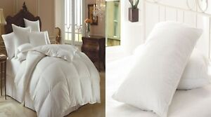 LUXURY-HOTEL-QUALITY-GOOSE-FEATHER-amp-DOWN-DUVET-QUILT-All-SIZES-10-5-TOG