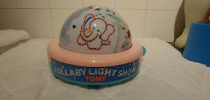 Tomy-First-Fun-Lullaby-Light-Show-Windup-Musical-Night-Light-Retro-Vintage-1987