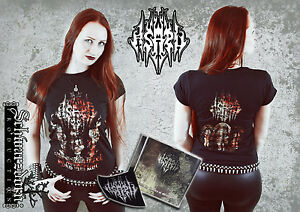 Asaru-Bundle-mit-T-Shirt-M-NEU-NEW-Black-Metal