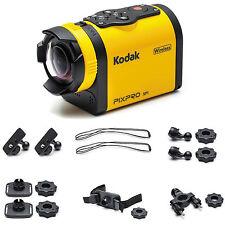New Kodak Pixpro SP1-14MP Action Digital Camera w/ Aqua Sport Pack Full HD 1080p