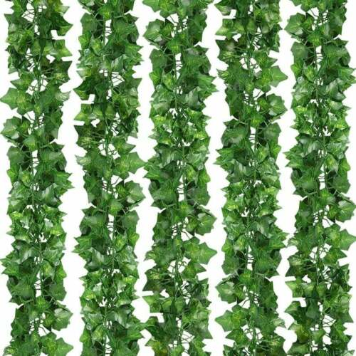 room wedding decor garland Artificial Greenery vines for decor Fake Ivy Leaves