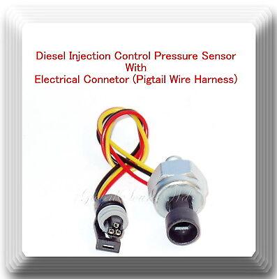 Injection Control Pressure ICP Sensor Pigtail DT466E I530E HT530 DT466 EBay