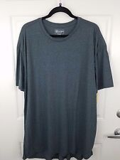Men's T-Shirt, LuLaRoe Patrick Tee, Size 3XL XXXL, BLUE GRAY GREY HEATHERED