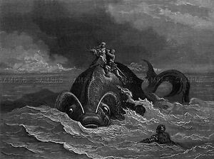 GUSTAVE-DORE-ORLANDO-FURIOSO-10-OLD-MASTER-ART-PAINTING-PRINT-POSTER-1205OMA