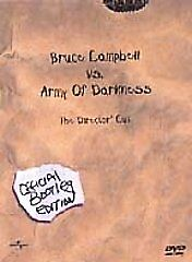 Army of Darkness (DVD, 2001, Directors Cut: Bootleg Edition) DISC IS MINT