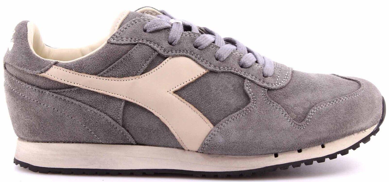 DIADORA HERITAGE Herren Herren Herren Schuhe Sneakers Trident S SW Storm Gray Grigio Grau Neu e86cfc