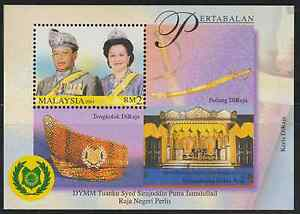 273AM-MALAYSIA-2001-PERLIS-SULTAN-MS-FRESH-MNH