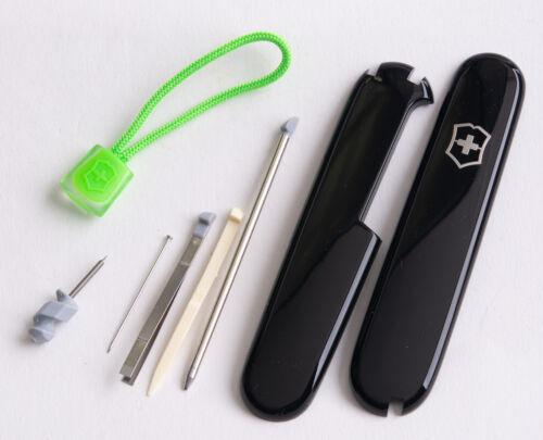 Plus mit grüner Kordel Victorinox Schalen Ersatzteil Set für 91er Messer
