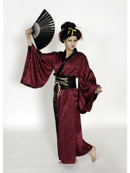 100% De Calidad Geisha Carnaval Disfraz Mujer China Asia Japón-ver El Precio MáS Barato De Nuestro Sitio