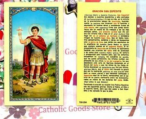 In Laminated Holy Card Fashionable Oracion A Nuestra Sra Style; Spanish Del Loreto