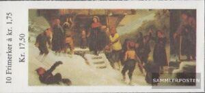 Norwegen-875MH-kompl-Ausg-Markenheftchen-postfrisch-1982-Weihnachten