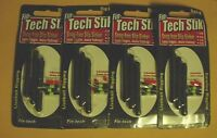 Four Packs Of 3 Fin-tech Stik Rat-l-n Snag-free Slip Sinkers 1/8 Oz With Stops