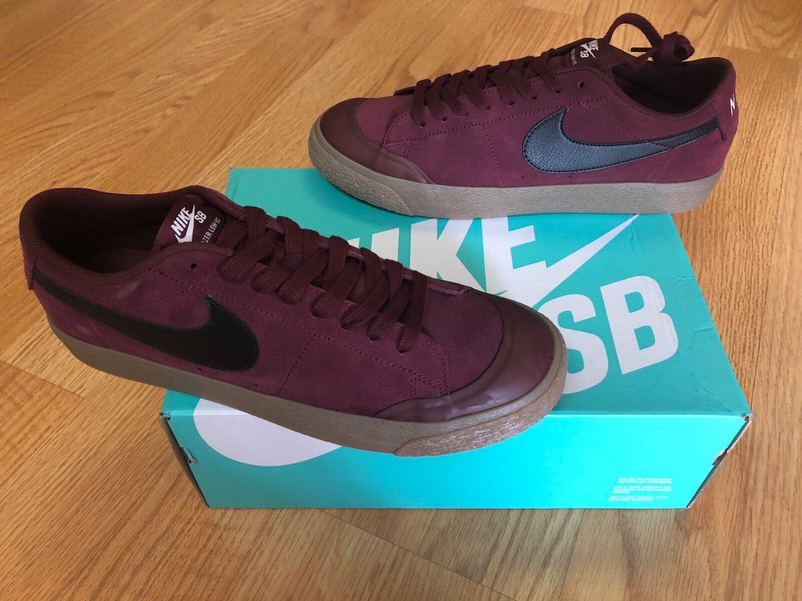 Nike SB Blazer Low Zoom XT Dark Team Red11.5 TZ,NRG,6.0,jordan,rare,Skate,sample