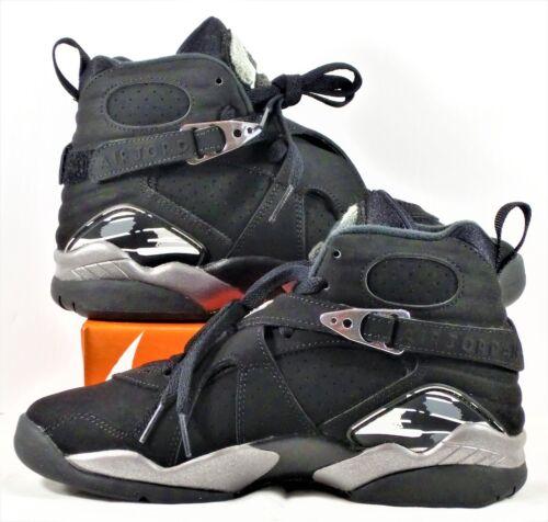 Nike Air Jordan Retro 8 VIII GS Black /& White Graphite Sz 7Y NEW 305368 003