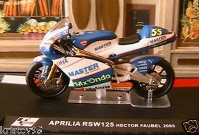 MOTO GP 1//24  SERIE 2 APRILIA 125 HECTOR FAUBEL 2005 MOTORRAD
