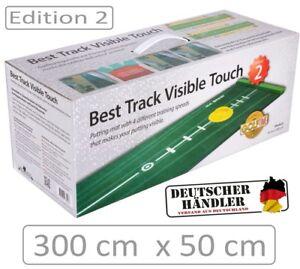 BEST-TRACK-Puttingmatte-EDITION-2-mit-Silikonhole-und-Mattenwischer-NEW