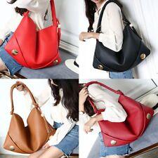 Women's Hobo PU Leather Handbag Cross Shoulder Hand Tassel Bag Large Capacity