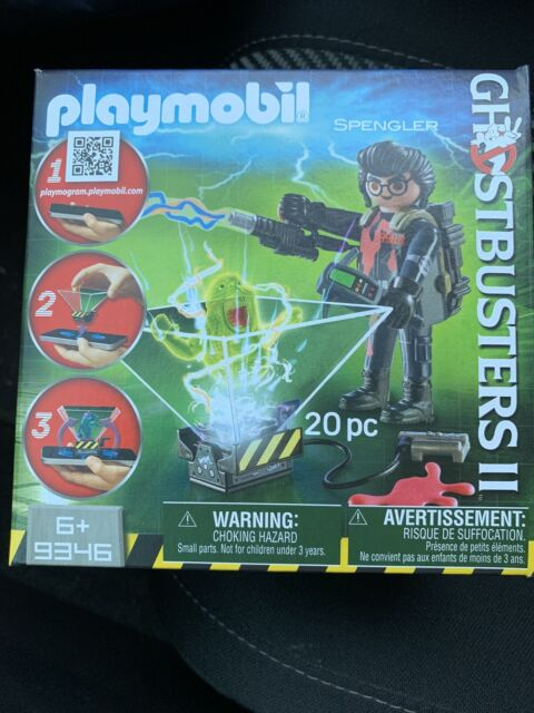 Playmobil #9346 Ghostbusters 2 Spengler Cell Phone Interactive Ghost Trap BX29