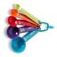 Farberware-cucharas-de-plastico-durable-Juego-de-5-Herramientas-De-Cocina-Multicolor miniatura 3