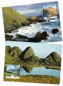 2010-Australia-Macquarie-Island-AAT-SG-193-6-Maxi-Cards-Set-of-4