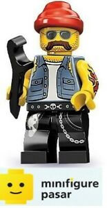 Lego-71001-Collectible-Minifigure-Series-10-No-16-Motorcycle-Mechanic-New
