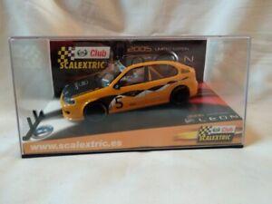 SCX-Club-Scalextric-2005-Seat-Leon-edicion-limitada-1-32-Nuevo-109