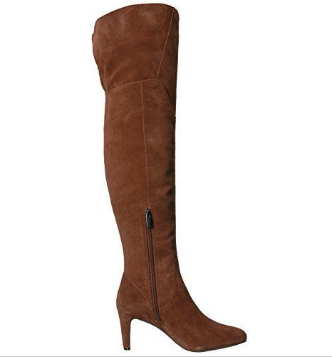 NIB Vince Camuto Women's Armaceli Over The Knee Boot Chocolate Truffle Size 6.5M