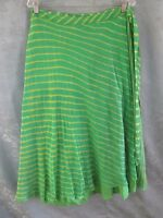 Soft Surroundings Silk Laheriya Tie Dye Wrap Skirt Size Xl