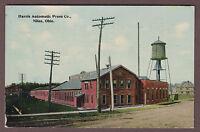Harris Automatic Press Co Niles Ohio c1910 Postcard Trumbull County