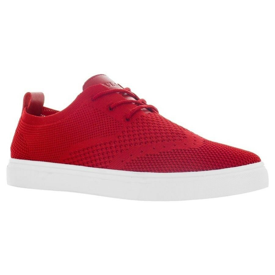 Vlado Footwear Men's Venice Low-Top shoes Red IG-800-5