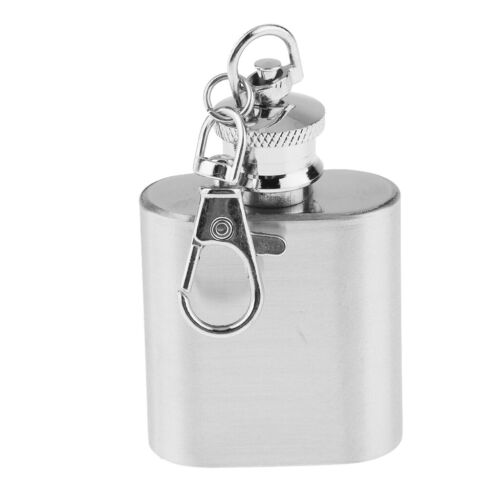 Stainless Steel Alcohol Flagon Portable Hip Flask Whiskey Bottle Drinkware
