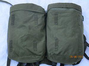 Webbing-90-Side-Pouches-amp-Yoke-Olive-Plce-Daypack-Side-Pockets-Dirty