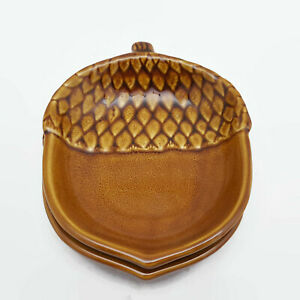 Pottery-Barn-Condiment-Candy-or-Nut-Acorn-Bowls-Set-of-2