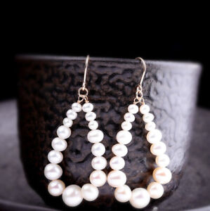 A03-Earring-Droplets-from-Natural-Shaped-Beads-Gilded-Silver-925